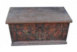 Original  Painted Blanket Chest