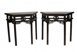 Pair of Antique Console Tables