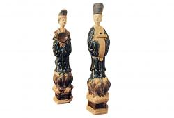 Pair of Chinese Figurines