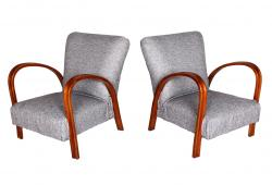 Pair Italian Art Deco Armchairs
