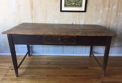 Perfectly Worn Tuscan Table Seats 4, Great for Kitchen or Desk