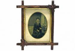 Antique Photograph of a Woman