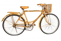 Rattan Covered Bicycle