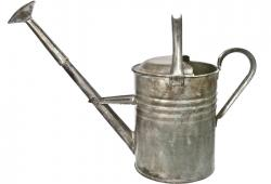 Refurbished Vintage Galvanized Watering Can