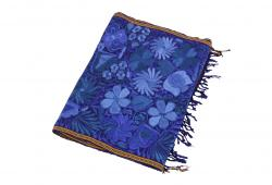 Royal Blue Camino De Flores Table Runner