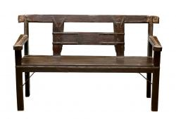 Rural Ox Cart Bench