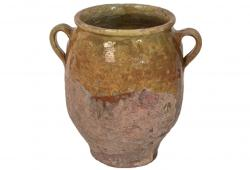 Rustic Provencal Pot with handles