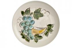 Sascha Brastoff Ceramic Serving Plate