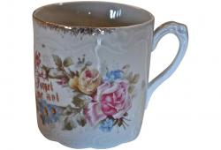 "Sentiment cup ""Forget me not"""