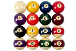 Set Of 16 Vintage Belgian Aramith Billiard Balls