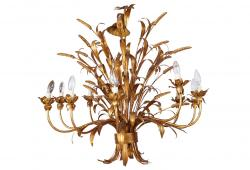 Sheaf of Wheat 10 Light Chandelier