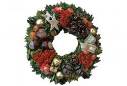 Small Bavarian Candle Living Wreath