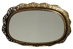 Small Oval Vanity Tray