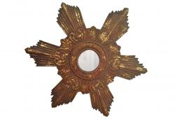 Star Burst Gilt Mirror