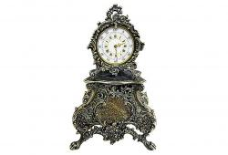 Sterling French Mini-Clock