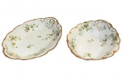 T. Haviland Limoges Bowls, Set of 2
