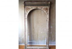 Tall Antique Archway Chapel Frame
