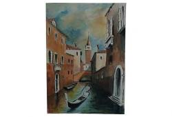 Venice Italy - signed watercolor
