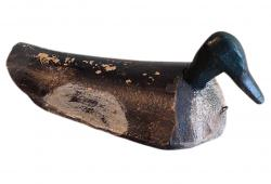 Vintage Duck Decoy, Black