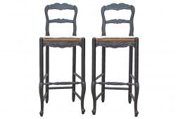 Vintage French Country Bar Stools by Habersham