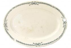 Vintage French Faience Platter