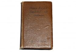 Vintage French Leather Dictionary English to French & French to English