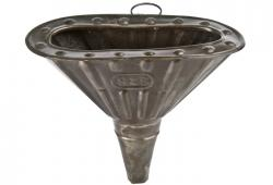 Vintage French Oval Gas Funnel