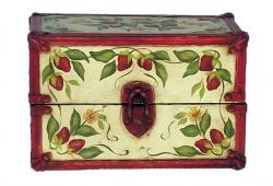 Vintage Hand-Painted Case
