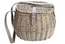 Vintage Inspired Willow Fishing Creel