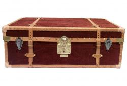 Restored Vintage Marshall Fields Trunk