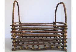 Vintage Primitive Twig Basket