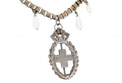 Vintage Relic Military Medal Necklace