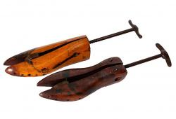 Vintage Shoe Trees, Pair