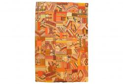 Vintage Turkish Patchwork Kilim