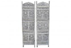 White Carved Shutters