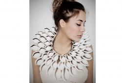 White Warrior Shell Necklace