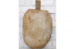 Worn Antique Wooden French Bread Board
