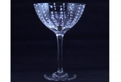 Zafferano Perle Clear Cocktail Glasses, Set of 4