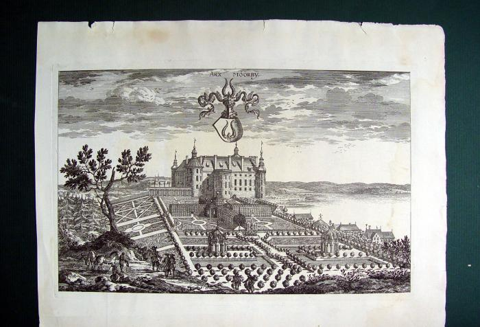 1690s Swedish Baroque Castle Moorby