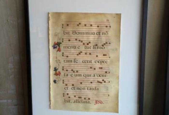 17th Century Sacred Music Chant in Frant