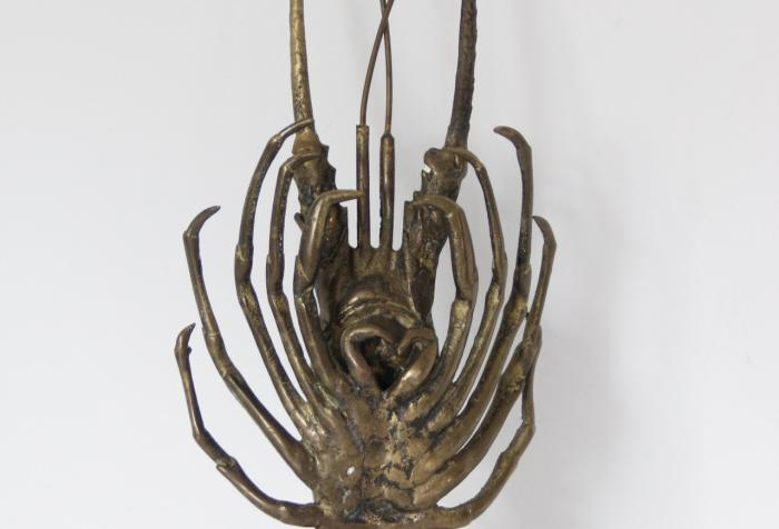 1960s Large Brass Lobster