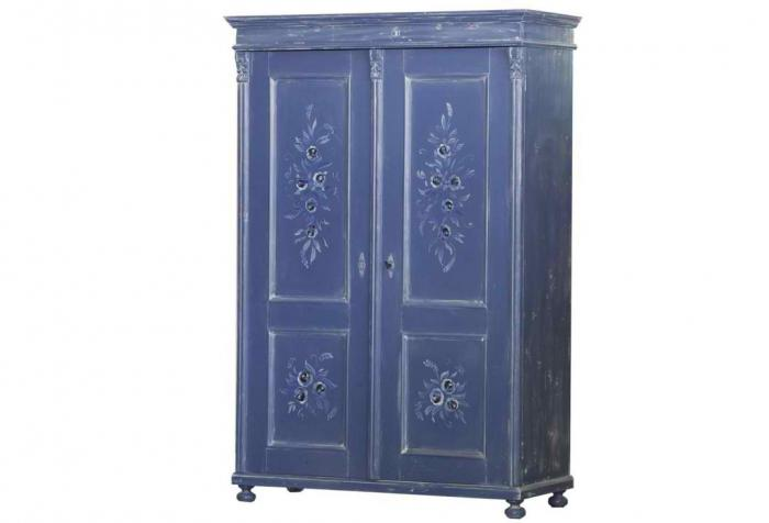 Antique Double Armoire Blue Omero Home