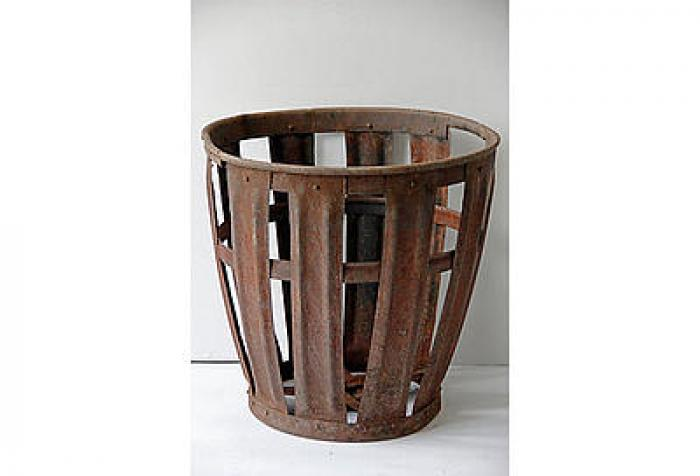 Antique European Vintners Basket