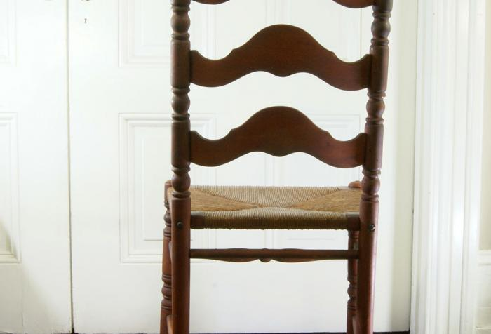 Antique Ladderback Dining Chairs 1800s - Antique Ladderback Dining Chairs 1800s Omero Home