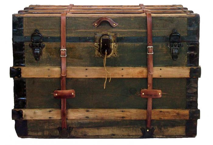 Antique Packing Trunk