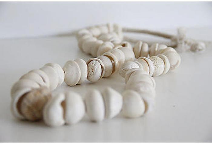 Gorgeous White Shell Necklace